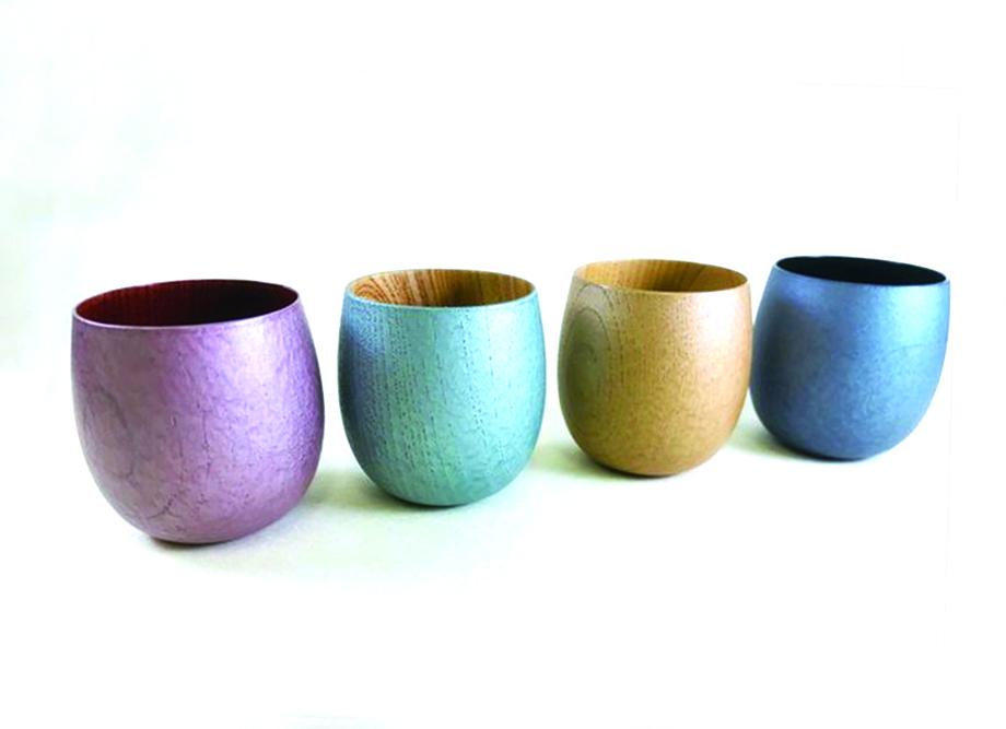 【新築祝いに最適!おしゃれな漆器】たまゆらカップ 4種類 ~浅田漆器のモダン食器~