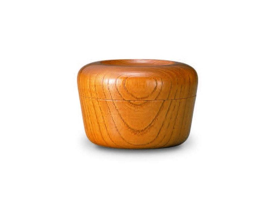 おしゃれな木製小物入れ【我戸幹男商店】TURARI 蓋物 臼~山中漆器の小物入れ~