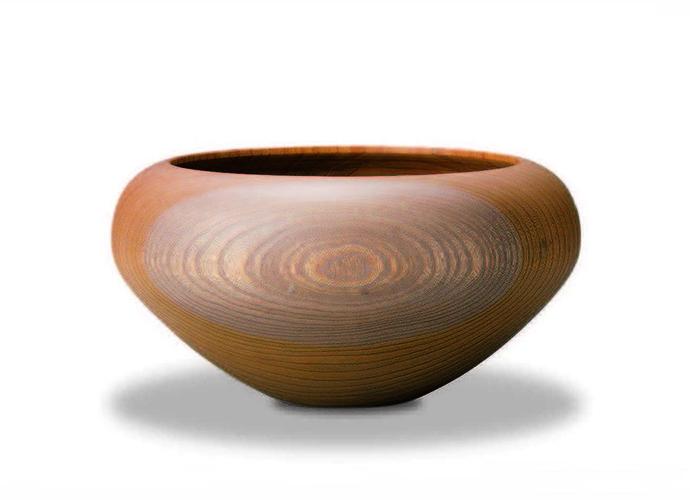 おしゃれな木製高台【我戸幹男商店】AEKA Object Round L~山中漆器の器~