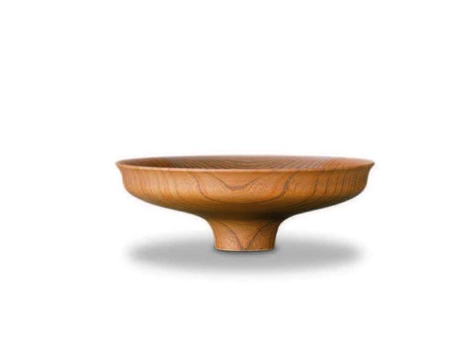 おしゃれな木製高台【我戸幹男商店】AEKA Object Slim S~山中漆器の器~