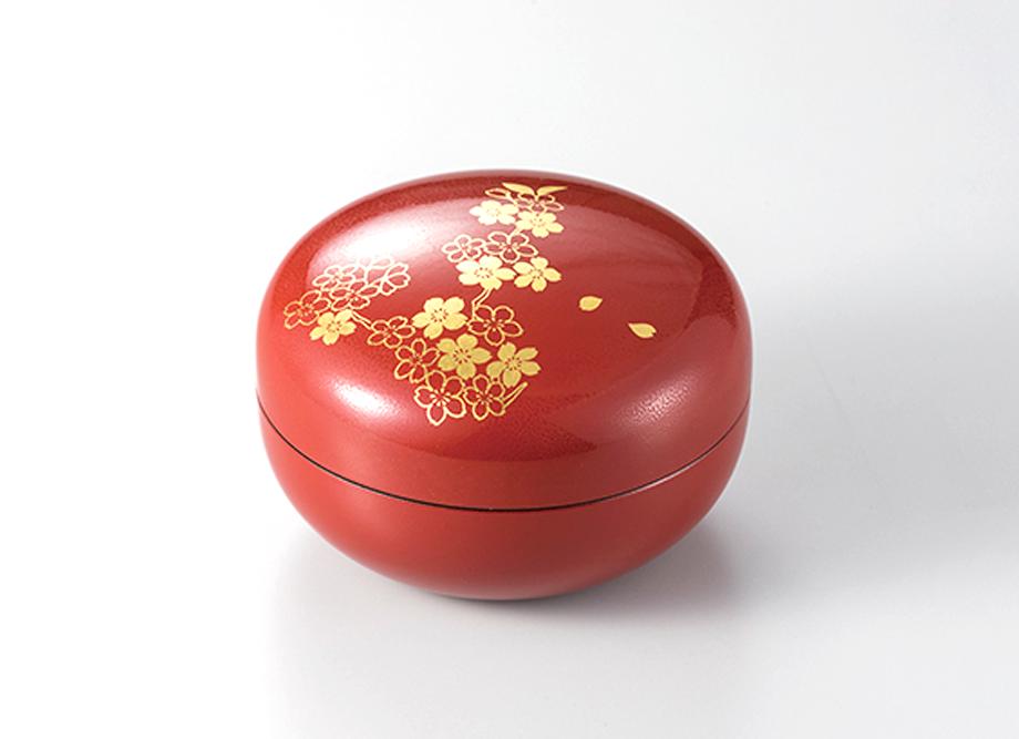 【箔一】本金箔 紅桜 ボンボン~金箔(金沢箔)の小物~