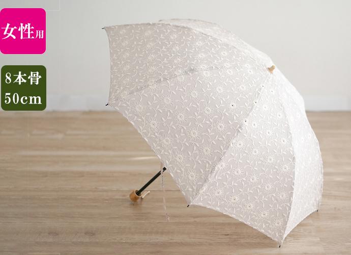 小宮商店 婦人用折りたたみ傘 フローラルレース の取り扱いを始めました♪