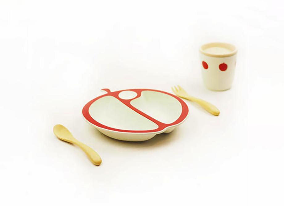 【出産祝いにおすすめ!】MELA(メーラ)ベビーセット~日本製のベビー食器~