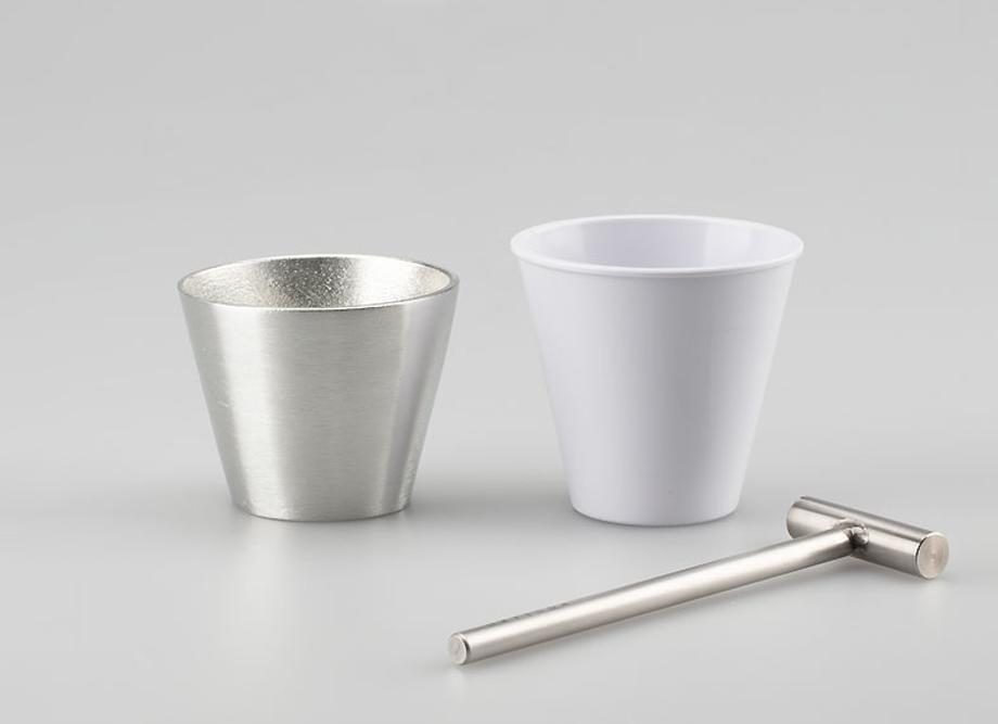 【ギフトにおすすめ】能作 槌目体験キット  タンブラー -高岡鋳物の錫製品-