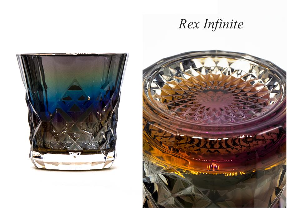 【男性への贈り物に人気】ジュエリーロックグラス PROGRESS(SunFly)高級チタングラス・Rex Series インフィニティ