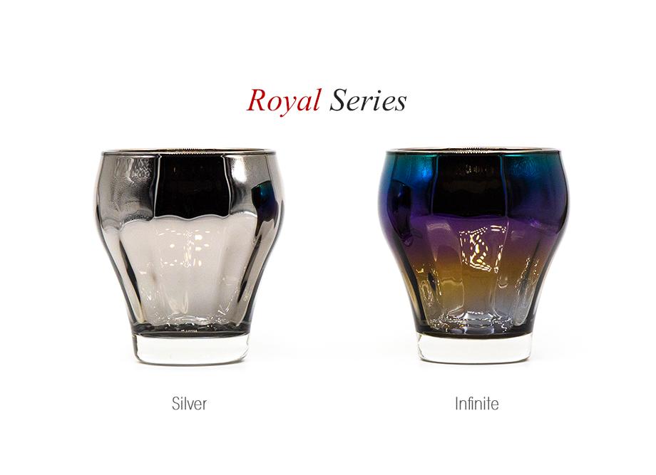 法人ノベルティにおすすめ 高級チタングラス・Royal Series 名入れ可能