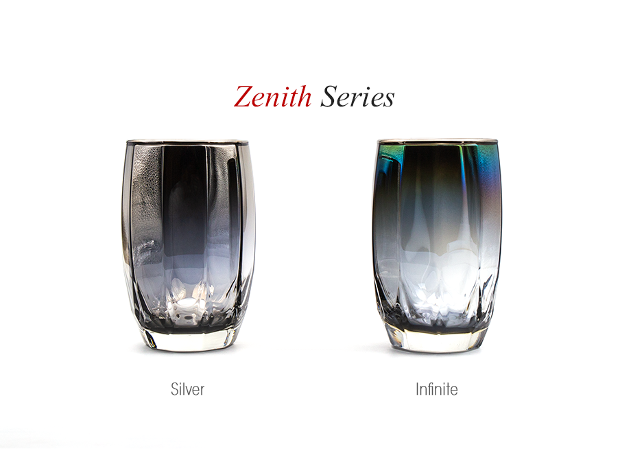 【結婚祝いにおすすめ】ジュエリーグラス PROGRESS(SunFly)高級チタングラス・Zenith Series(名入れ可能)