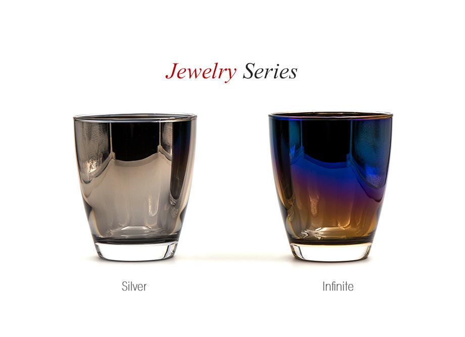 【新築祝いにおすすめ】ジュエリーグラス PROGRESS(SunFly)高級チタングラス・Jewelry Seriesグラス(名入れ可能)