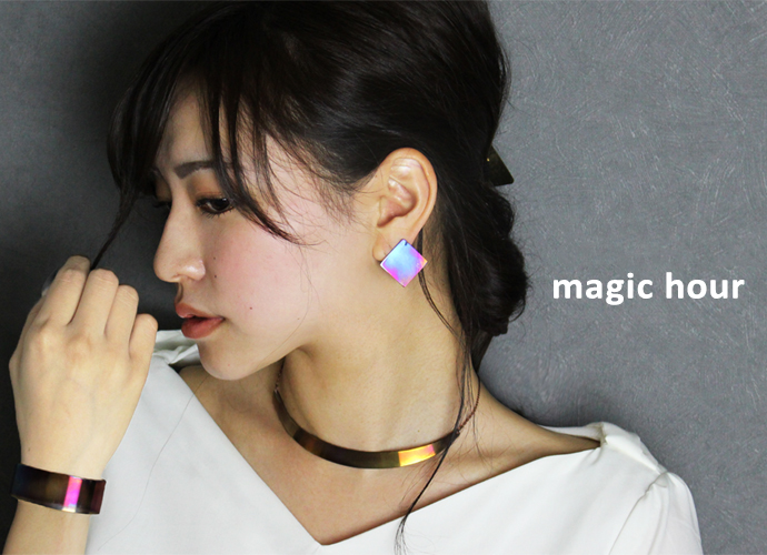SUS texture jewelry magic hour ブランドイメージ